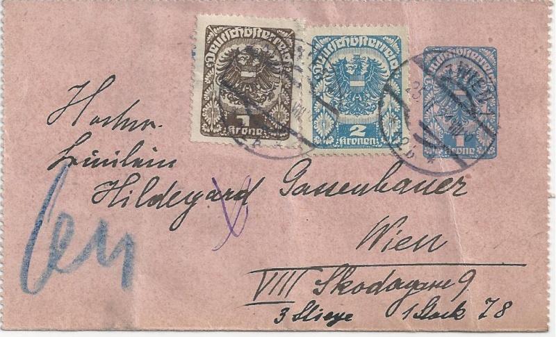 Inflation in Österreich - Belege - 1918 bis 1925 - Seite 3 Bild_835