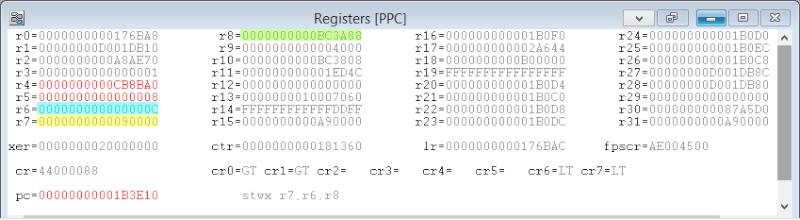 [PS3] Explications pour trouver soi-même ses codes EBOOT (PPC/ASM) Regist12