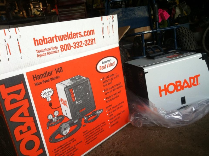 Opinions on a Hobart vs. Lincoln 140 welder  10474410