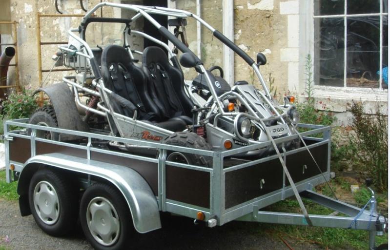 Remorque 2 essieux 411