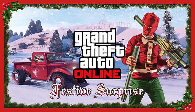 GTA V Online : Surprise Festive Gta5-s10