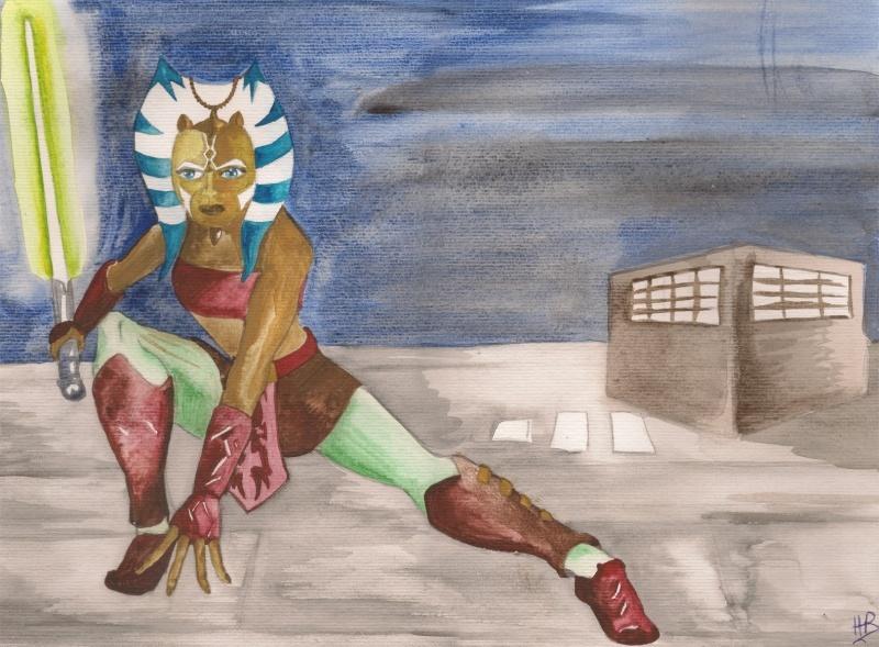 Darth Vader's artwork Ashoka10