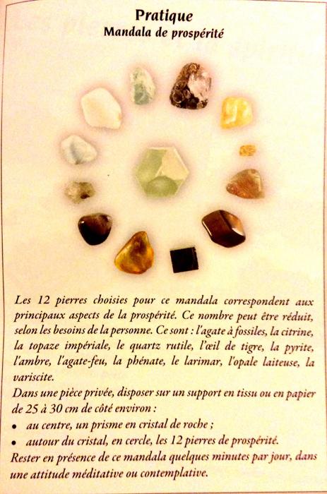 Les Mandalas de cristaux Mandal12