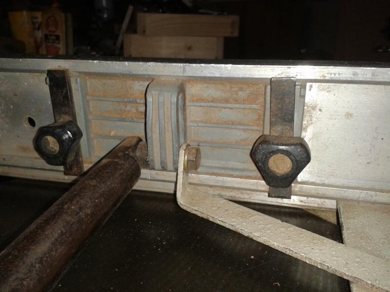 Réglage de fers de dégau sur Lurem C 260 N Guide_11
