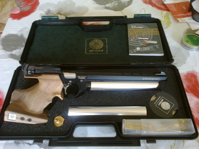 Arme de tir à 10 mètres Alfa Proj Classic 13092010
