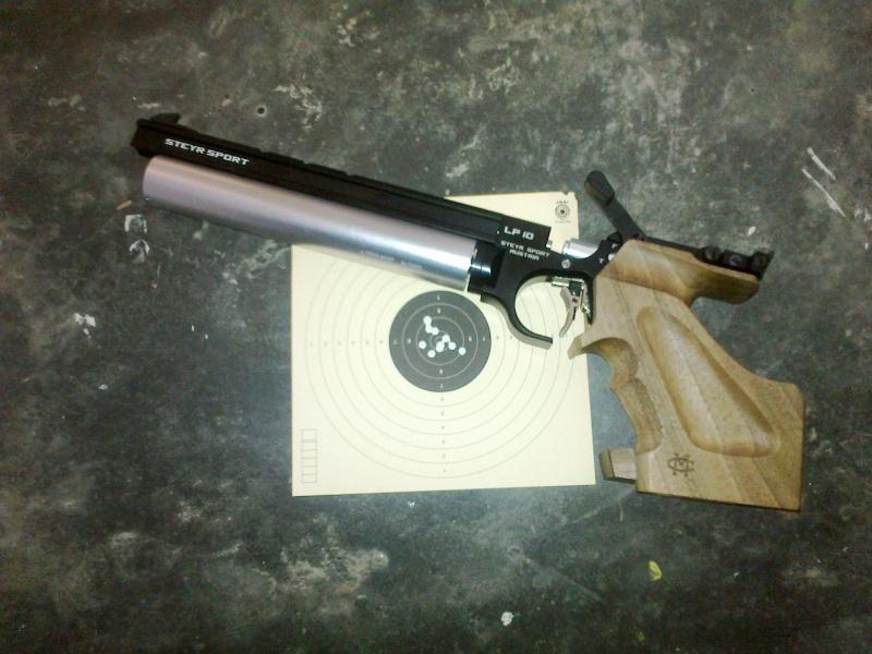Arme de tir à 10 mètres Alfa Proj Classic 13092012
