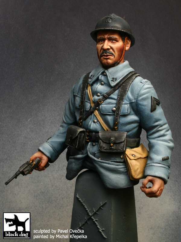 Buste du Tommy bataille de la Somme 1916 par Giacomel 110