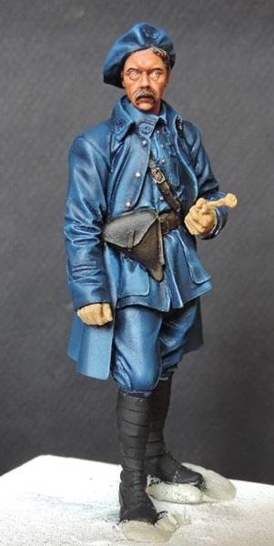 """Chasseur Alpin Français """"Diables Bleus 1918"""" H&V Modèles par Giacomel Dscn0822"""