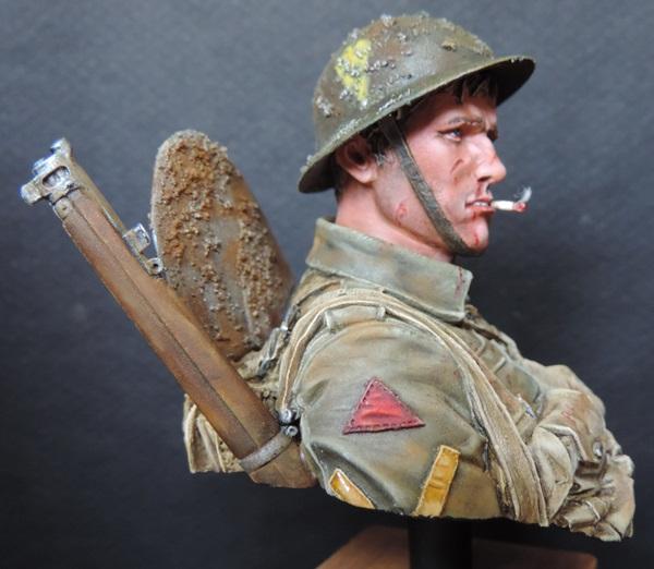 Buste du Tommy bataille de la Somme 1916 par Giacomel Dscn0825