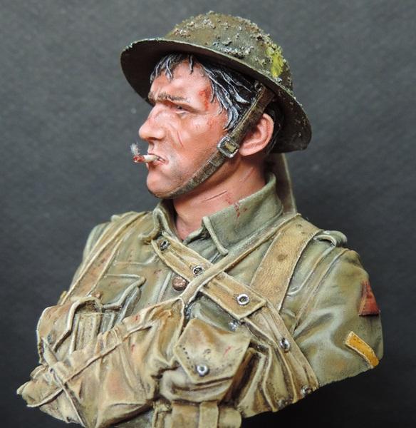 Buste du Tommy bataille de la Somme 1916 par Giacomel Dscn0827