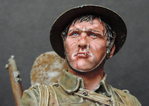 Buste du Tommy bataille de la Somme 1916 par Giacomel Dscn0828