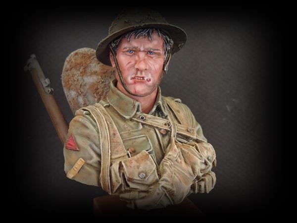 Buste du Tommy bataille de la Somme 1916 par Giacomel Dscn0829