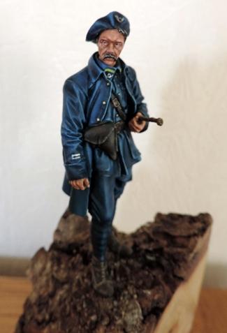 """Chasseur Alpin Français """"Diables Bleus 1918"""" H&V Modèles  Dscn0919"""