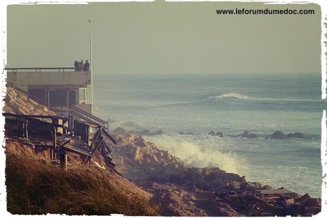 Erosion du littoral à Lacanau 10104210