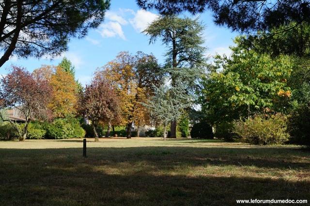 Le Parc municipal du Château d'Arche à Ludon Médoc 10250210