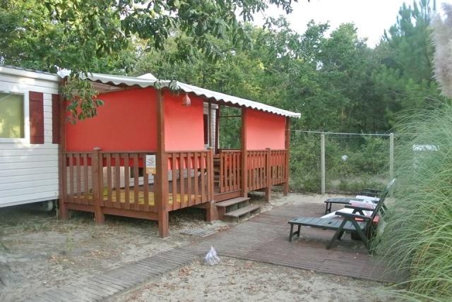 A vendre mobil-home 32 m2 sur camping à Soulac plage 10348510