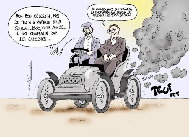 Les dessins humoristiques du Journal Sud Ouest sur l actualité du Médoc 10409210