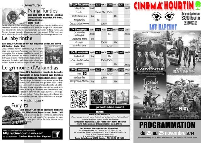 Programmation du Cinema Hourtin Lou Hapchot 10458711
