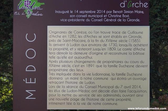 Le Parc municipal du Château d'Arche à Ludon Médoc 10649710