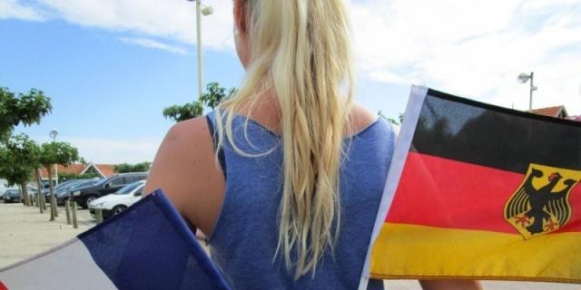 Médoc : entre France et Allemagne, leur cœur d'Allemande balance 16054710