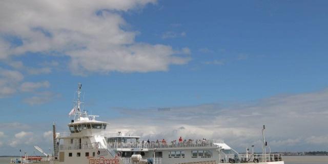 """Estuaire de la Gironde : la traversée à bord du """"Sébastien-Vauban"""" 16437610"""