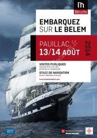 Embarquez sur le Belem le 13 et 14 Aout 2014 à Pauillac 33ef0a10