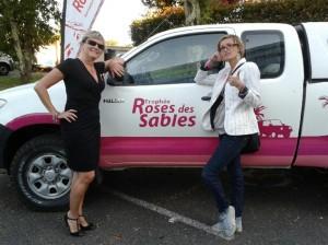2 amies (une Bordelaise et une Médocaine ) participent a l'aventure du Trophée Roses des Sables 2015  Devant10
