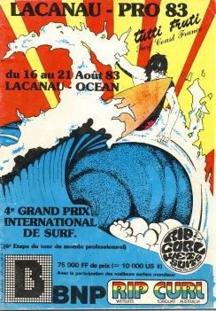 Lacanau Pro et ses 34 Affiches  Progra13