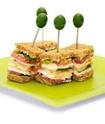 ENTREES FROIDES salades composées et hors-d'oeuvres (divers) Sandw210