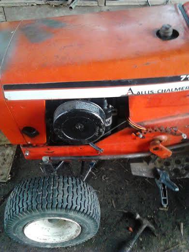 Allis Challmers 710 Tractor Allis110