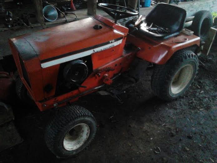 Allis Challmers 710 Tractor Allis410