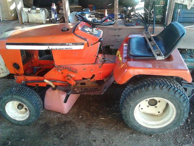 Allis Challmers 710 Tractor Fkkfk10