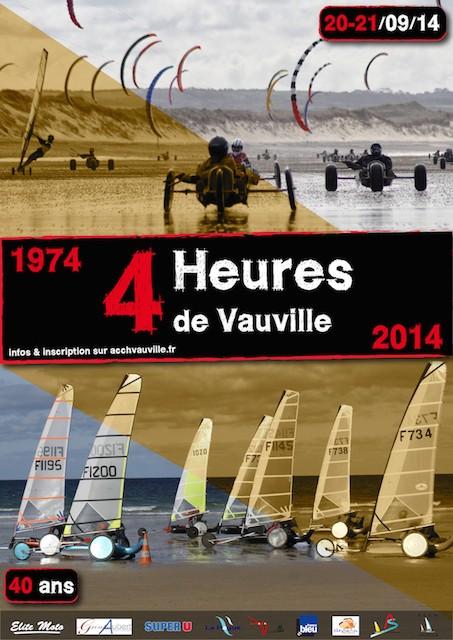 4 Heures de Vauville 2014 Affich15