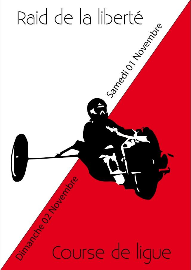 Raid de la liberté et la course de ligue Asnelles (01 et 02 /11/14) Ligue_11