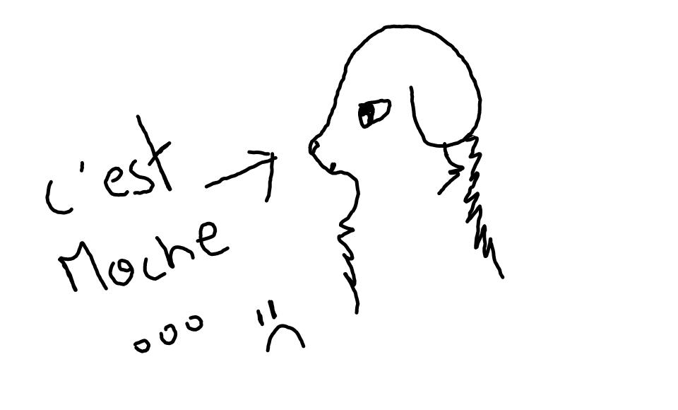 Dessine moi un mouton. Bêêh. Sketch11