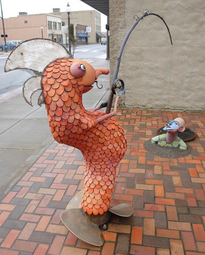 Le poisson pêcheur - Aberdeen - Etat de Washington 10918710