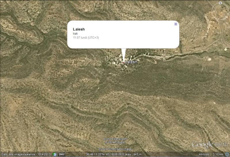 Lalesh, centre religieux du Yazidisme - Irak 2014-016