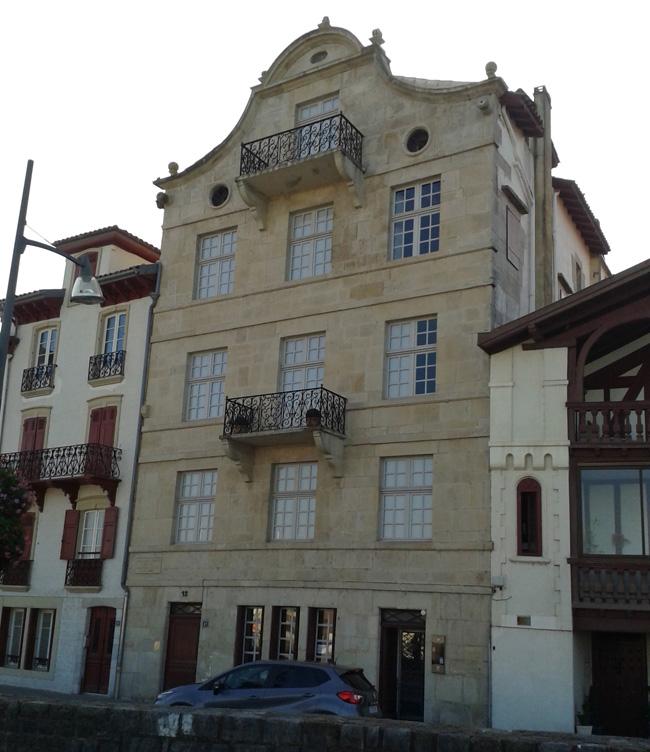 Maison natale de Maurice Ravel - Ciboure - Pyrénées Atlantiques - France 20141011