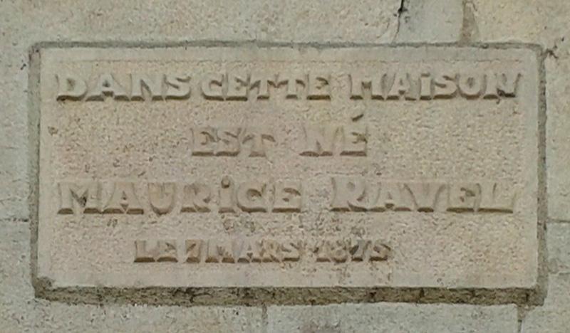 Maison natale de Maurice Ravel - Ciboure - Pyrénées Atlantiques - France 20141012