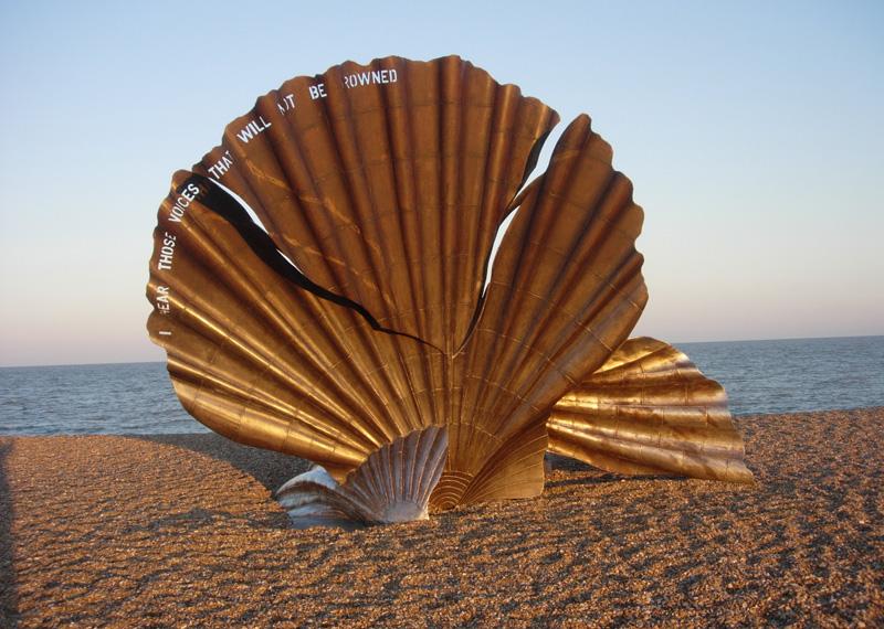 """The Scallop"", sculpture - Aldeburgh - UK 83578410"