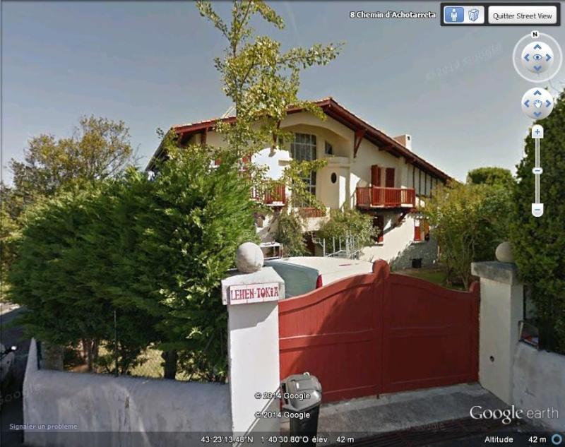 La maison de Pierre Benoit - Ciboure - Pyrénées Atlantiques - France A117