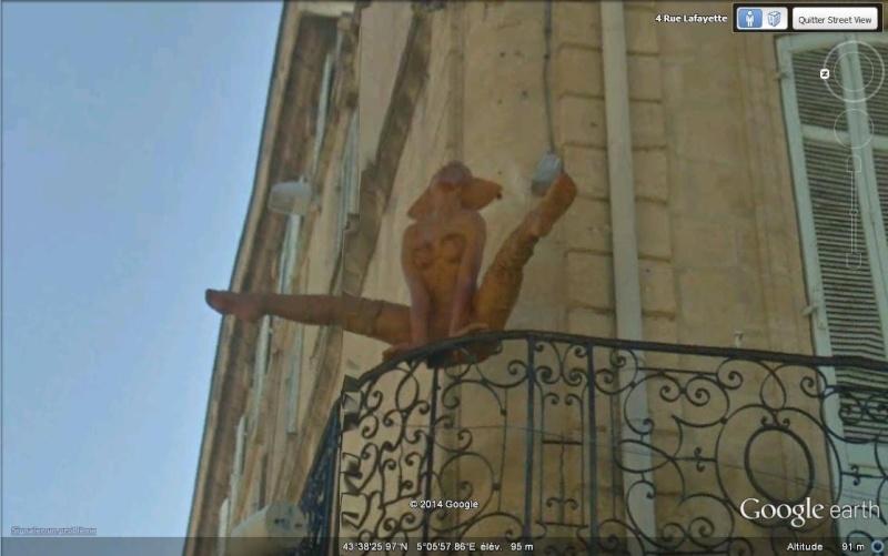 STREET VIEW : Gym au balcon - Salon de Provence A29