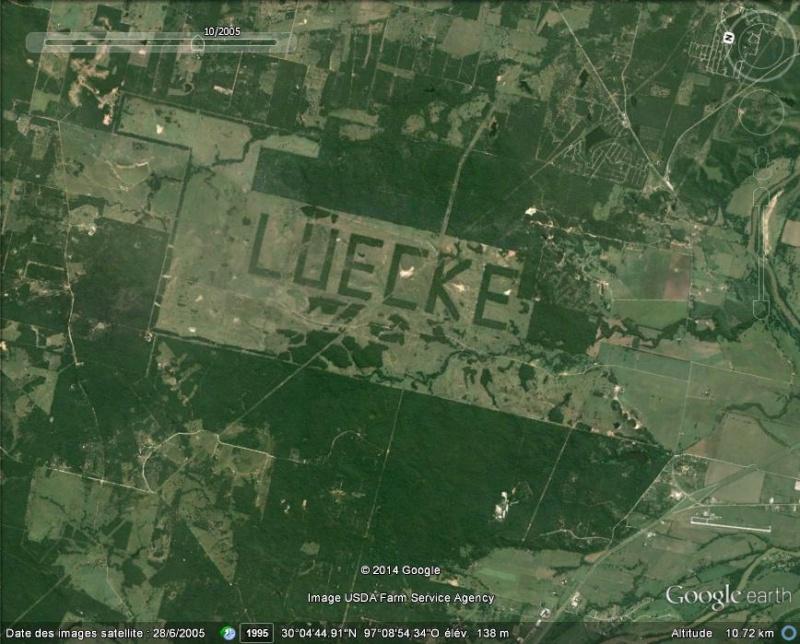 Des écrits (Luecke et Coronado) au Texas et en Californie A36