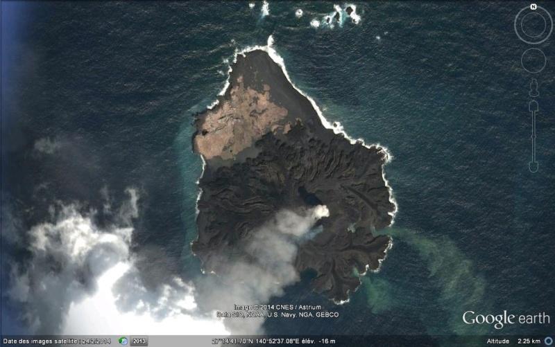 Une nouvelle île émerge au large du Japon Aa152