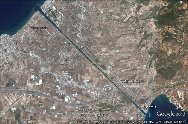 Canal de Corinthe GRECE Aa17