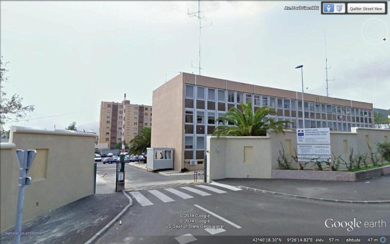 Attentats contre maisons et bâtiments administratifs, CORSE Aa21