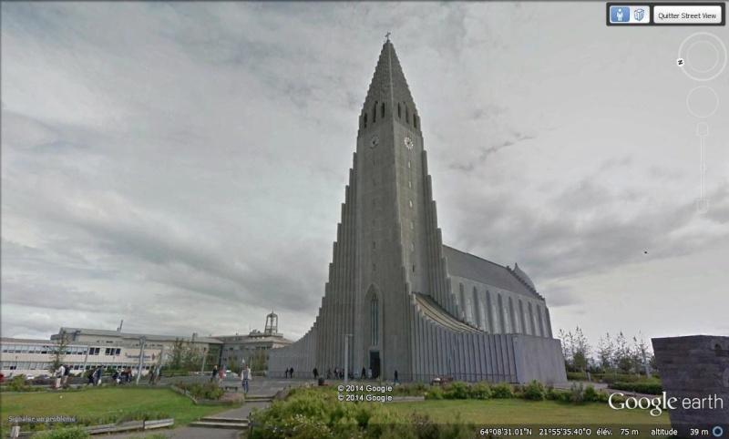 Hallgrímskirkja, église à Reykjavík, Islande Aa25
