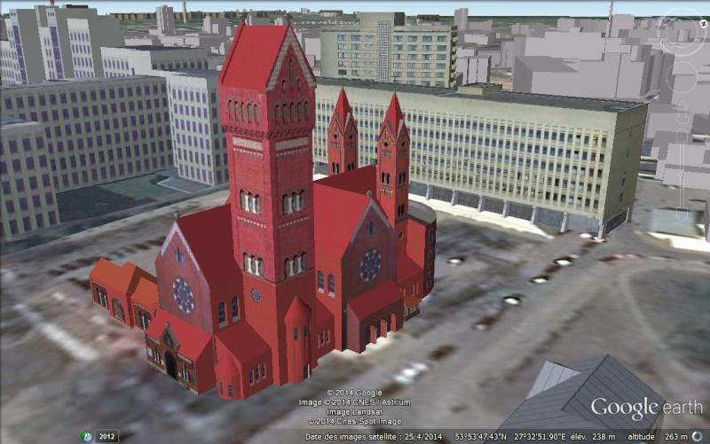 The Red Church, Minsk - Biélorussie Aa31