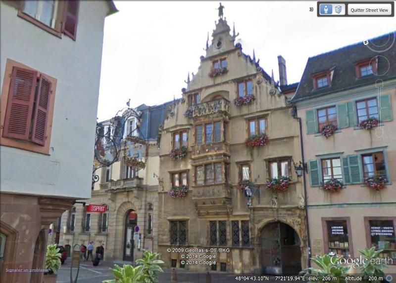 Maison des têtes - Colmar - Haut-Rhin - France Aa47