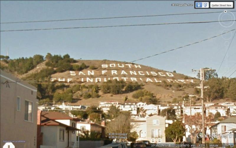 Ecriture, South San Francisco, Californie, USA Aa76